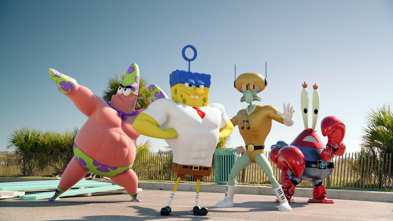 spongebob super hero squad