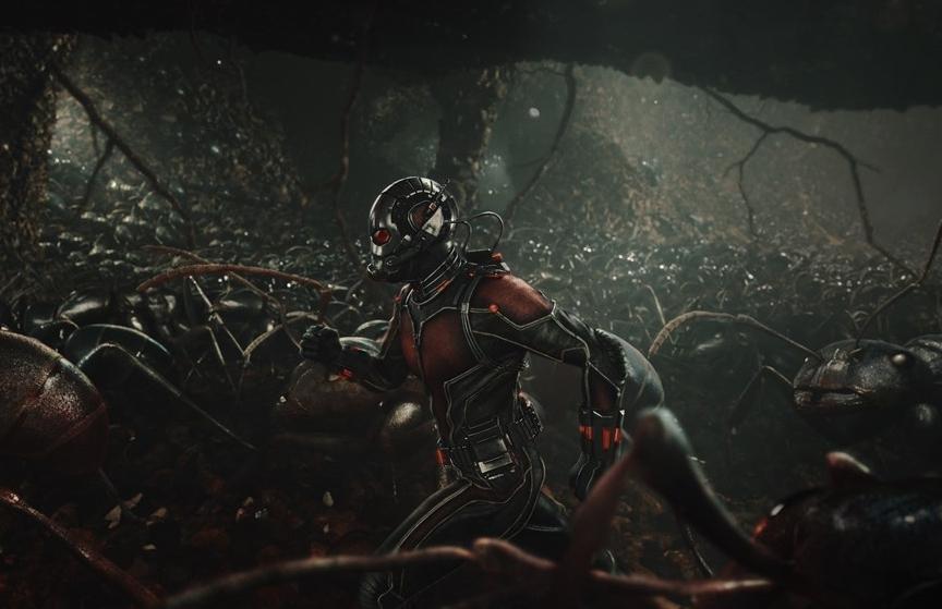 ANT-MAN, Paul Rudd (as Ant-Man), 2015. ©Walt Disney Studios Motion Pictures