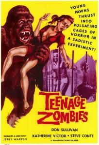 DVD-teenage;-zombies