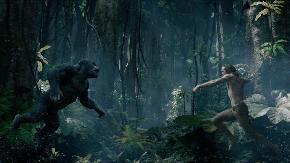 The legend of tarzan has its flaws but adds some interesting elements cinemastance dot com - Tarzan gorille ...