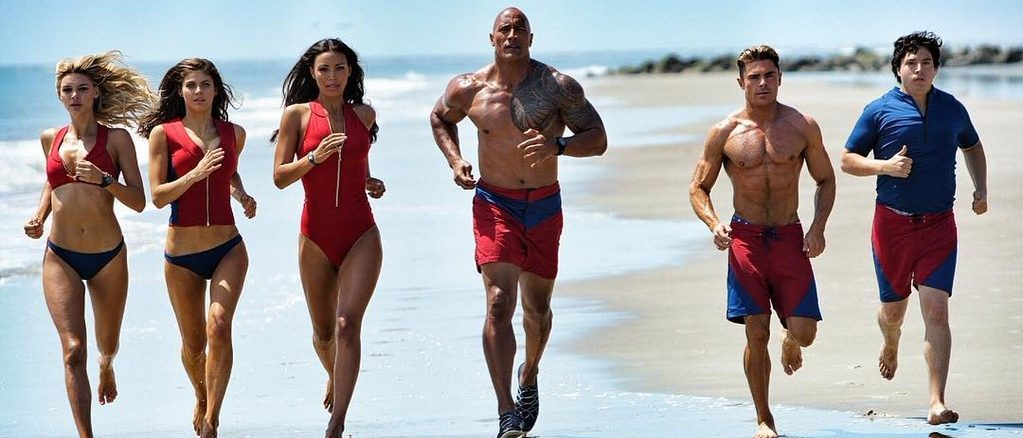 Baywatch-cast-running